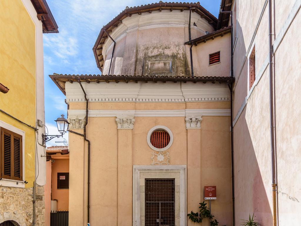 Chiesa Santa Chiara esterno