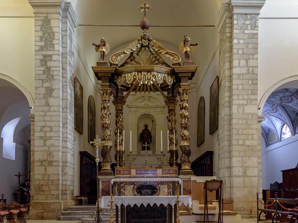 Cattedrale Santa Maria altare