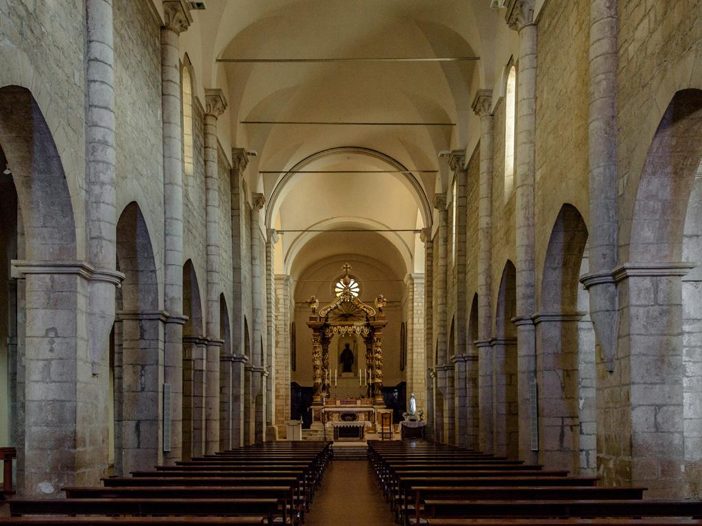 Cattedrale Santa Maria navata