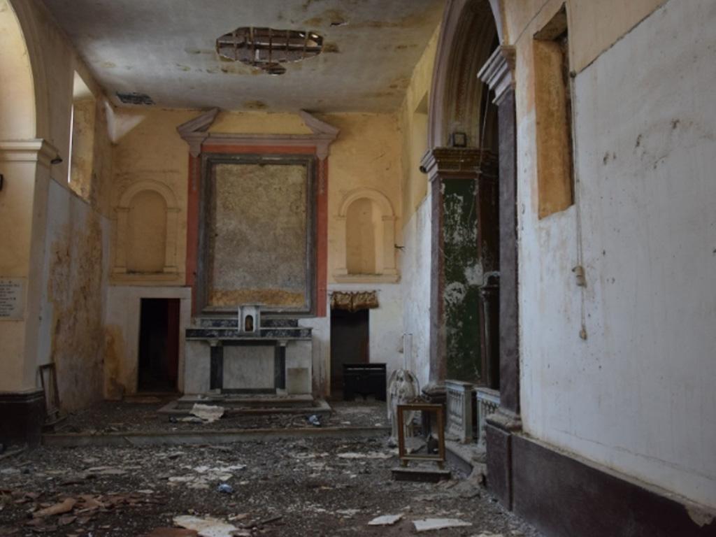 Chiesa Santa Parasceve interno
