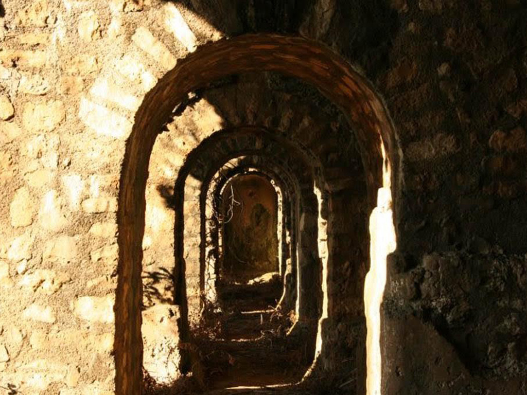 Villa Romana interno delle grotte