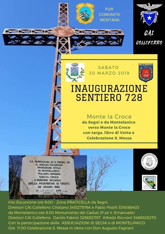 Montelanico: Inaugurazione sentiero 728 @ monumento dei caduti  | Montelanico | Lazio | Italia