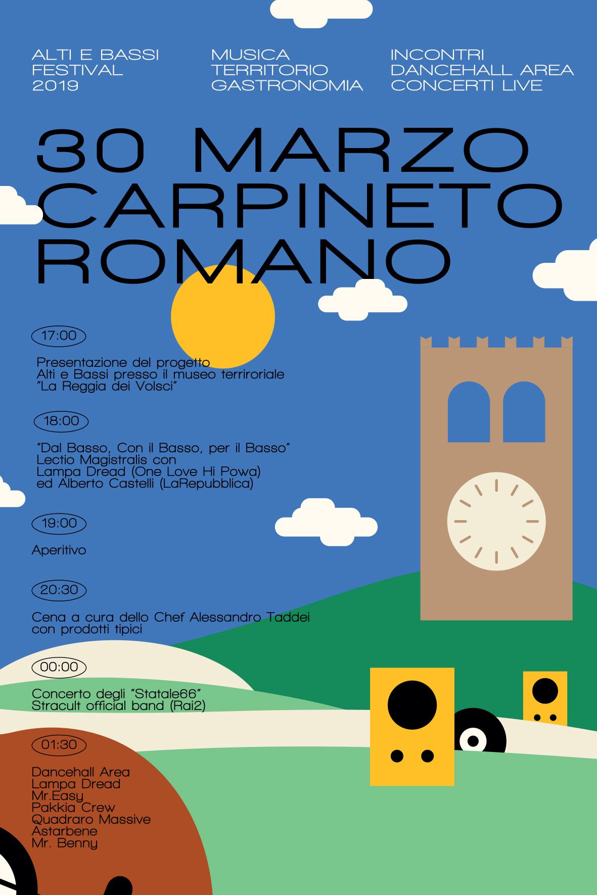Carpineto Romano: Festival Alti e bassi @ Museo Territoriale Reggia dei Volsci | Carpineto Romano | Lazio | Italia