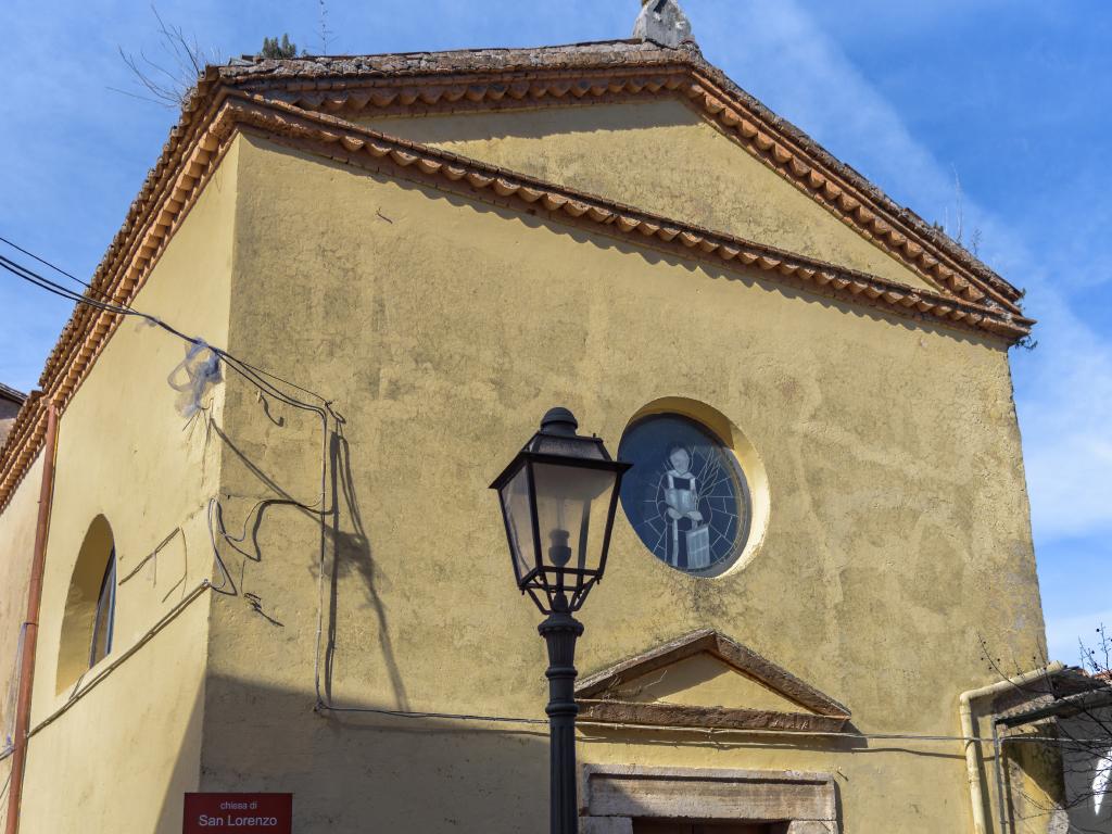 Chiesa San Lorenzo esterno