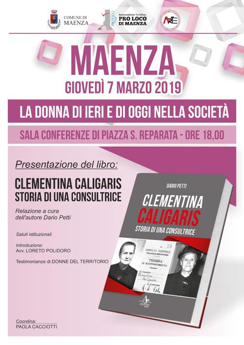 Maenza: La donna di ieri e di oggi nella società @ sala conferenze di piazza S. Reparata | Maenza | Lazio | Italia