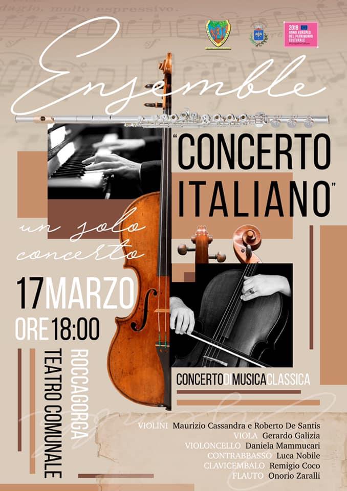 Roccagorga: Concerto Italiano @ Teatro Comunale | Roccagorga | Lazio | Italia