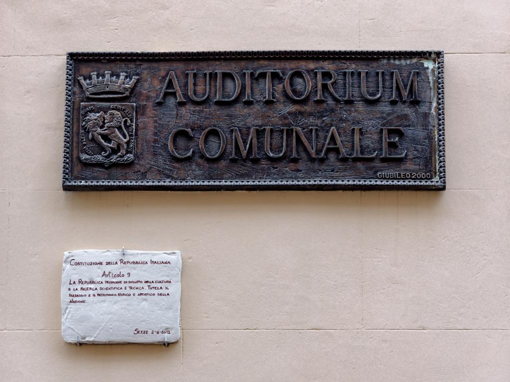 Auditorium San Michele Arcangelo