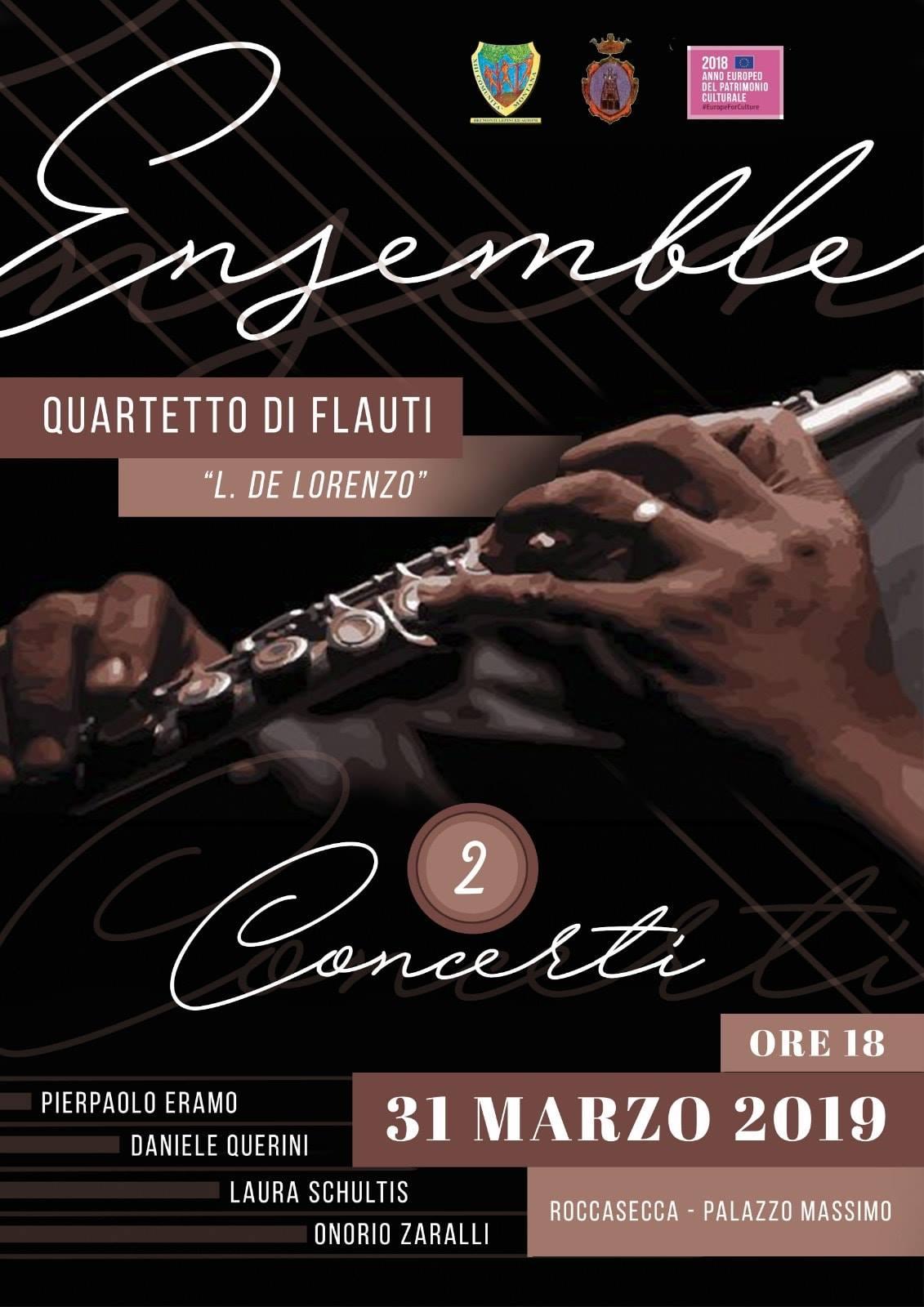 Roccasecca dei Volsci: Concerto @ palazzo massimo | Roccasecca dei Volsci | Lazio | Italia