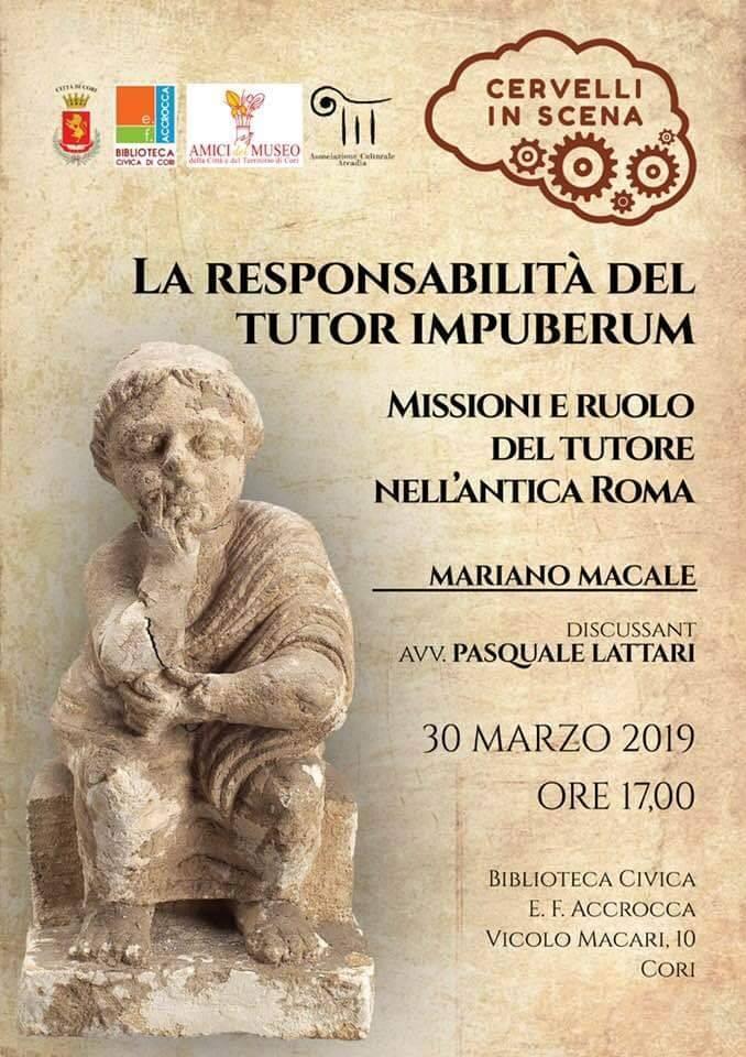 Cori: Cervelli in scena @ biblioteca civica  | Cori | Lazio | Italia