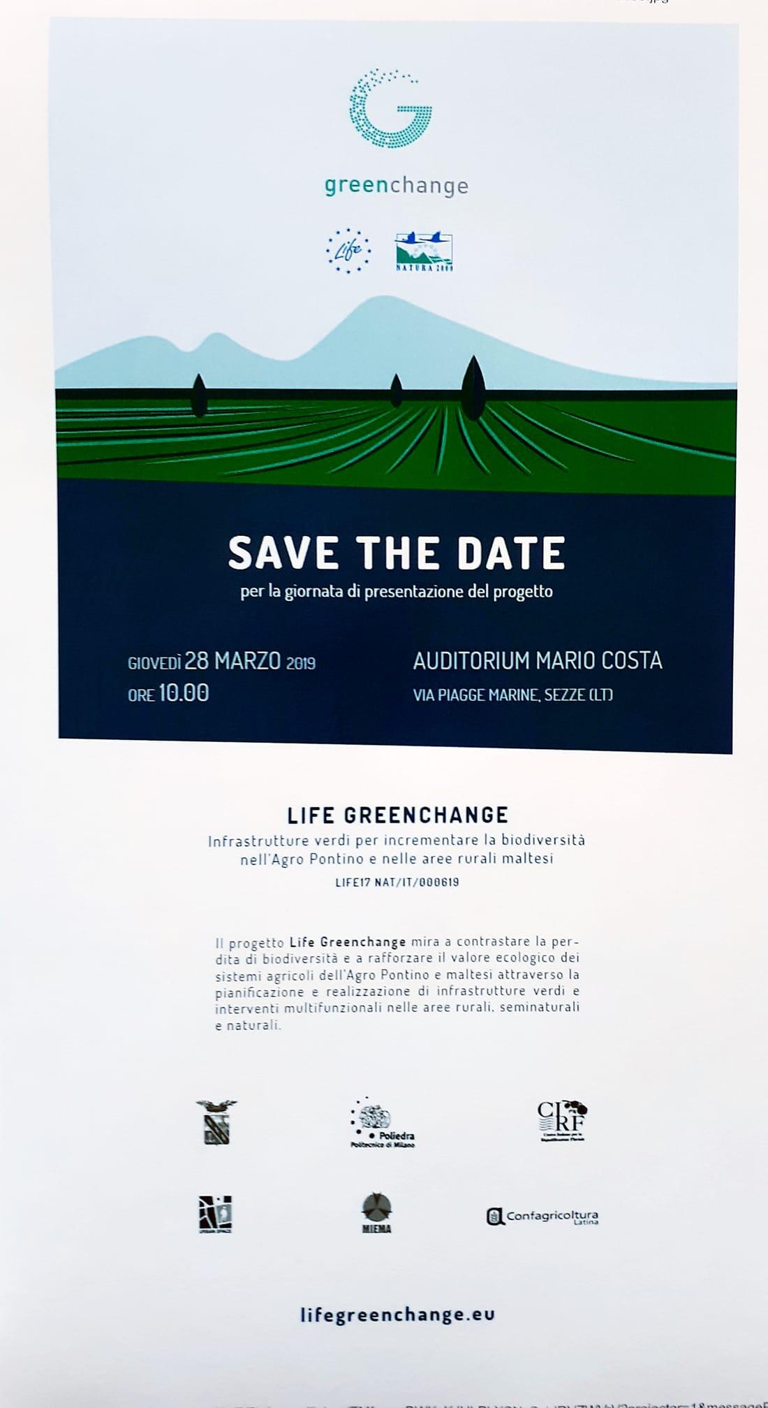 Sezze: Life Greenchange @ Auditorium mario costa  | Sezze | Lazio | Italia