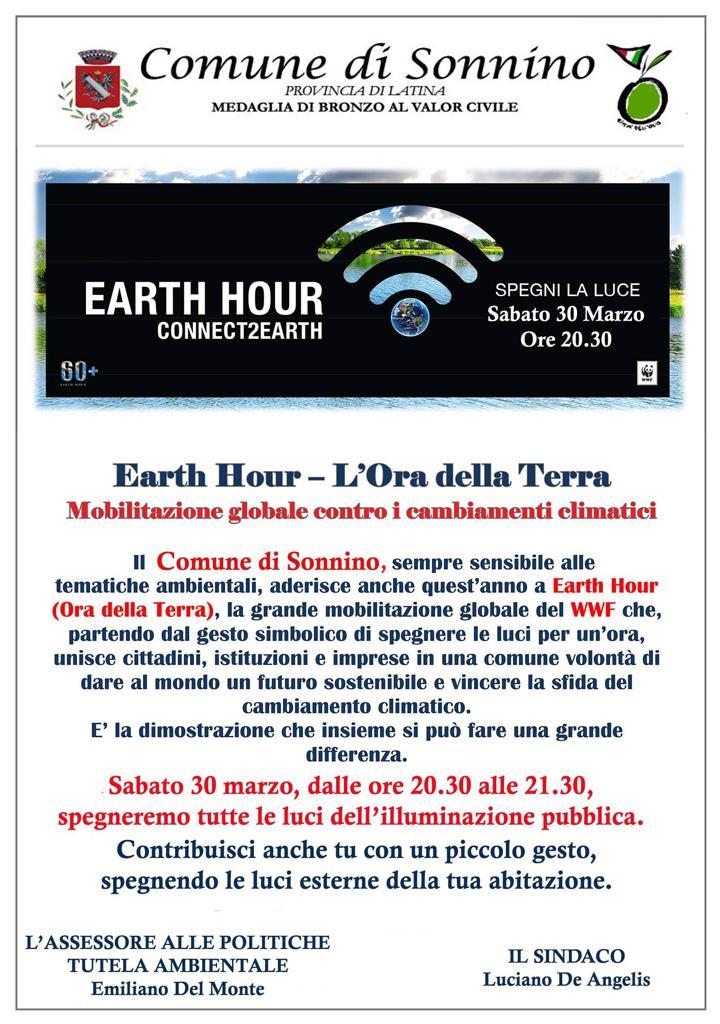 Sonnino: Earth Hour @ per le vie del paese | Sonnino | Lazio | Italia