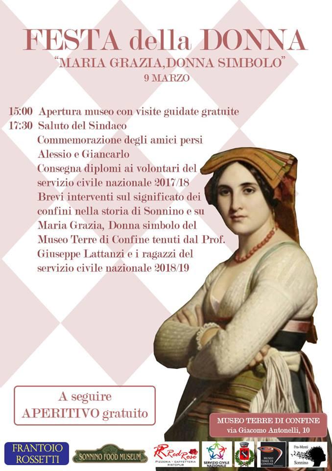 Sonnino: Festa della donna @ Museo Terre di Confine | Sonnino | Lazio | Italia