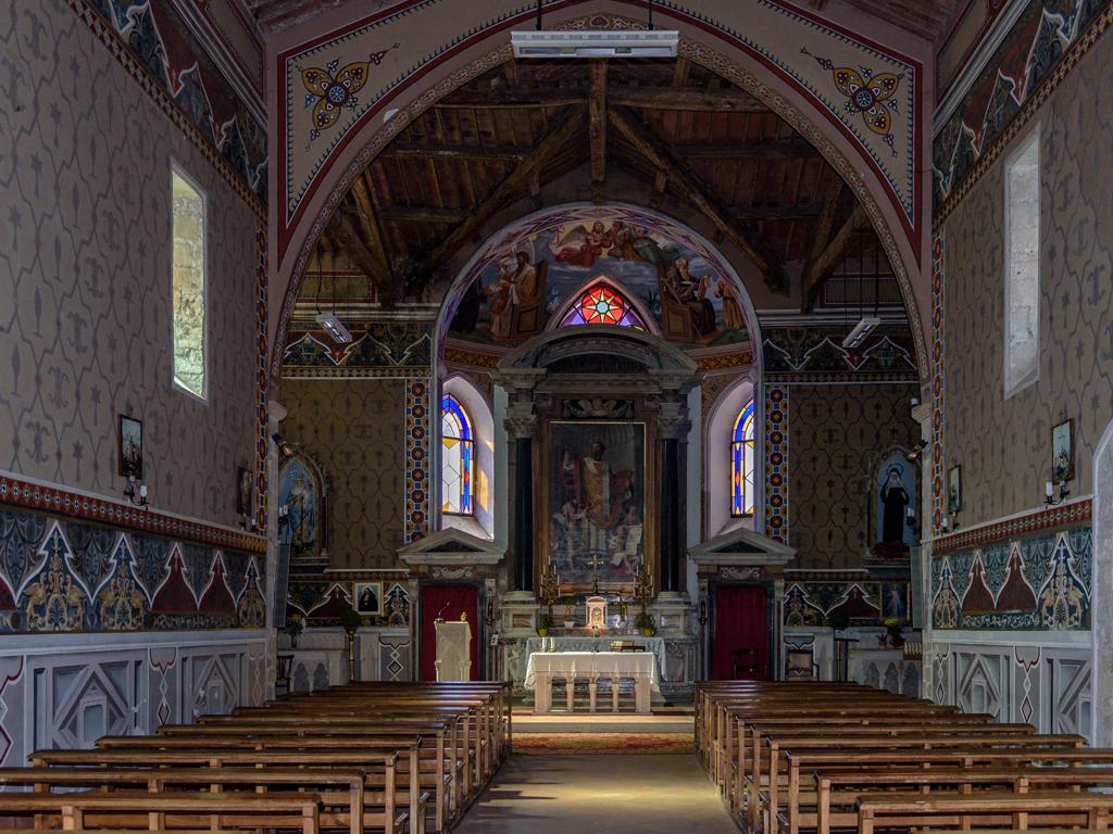 Chiesa di S.Agostino - Navata