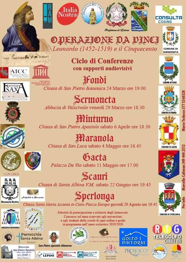 Sermoneta: Operazione Da Vinci @ Abbazia di Valvisciolo  | Sermoneta | Lazio | Italia