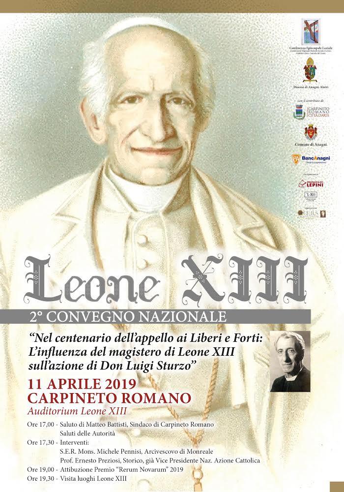 Carpineto Romano: Leone XIII 2° Convegno Nazionale @ Auditorium Leone XIII | Lazio | Italia