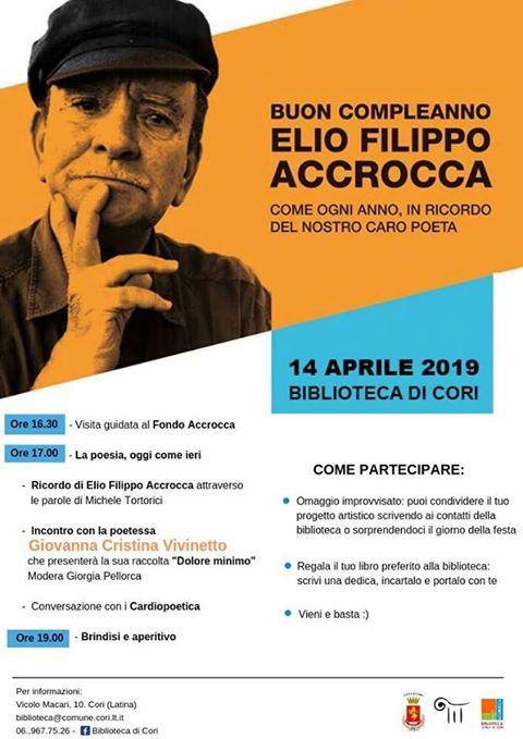 Cori: Buon Compleanno Elio! @ Biblioteca civica | Cori | Lazio | Italia