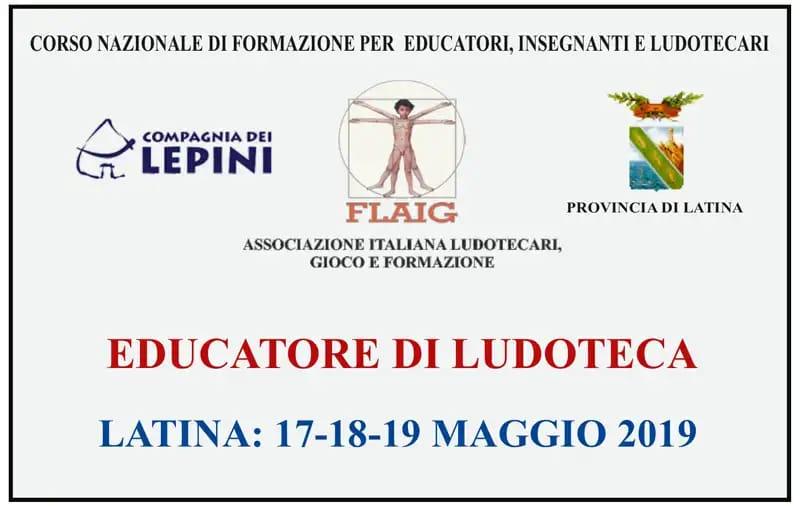 Latina: Corso nazionale di Formazione per Ludotecari, Educatori e Insegnanti @ Park Hotel | Latina | Lazio | Italia