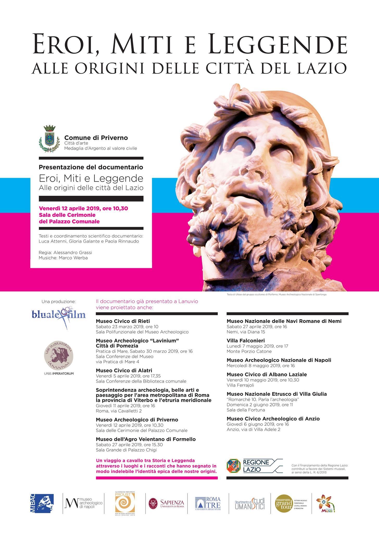 Priverno: Presentazione del documentario @ Sala cerimonie palazzo comunale | Priverno | Lazio | Italia