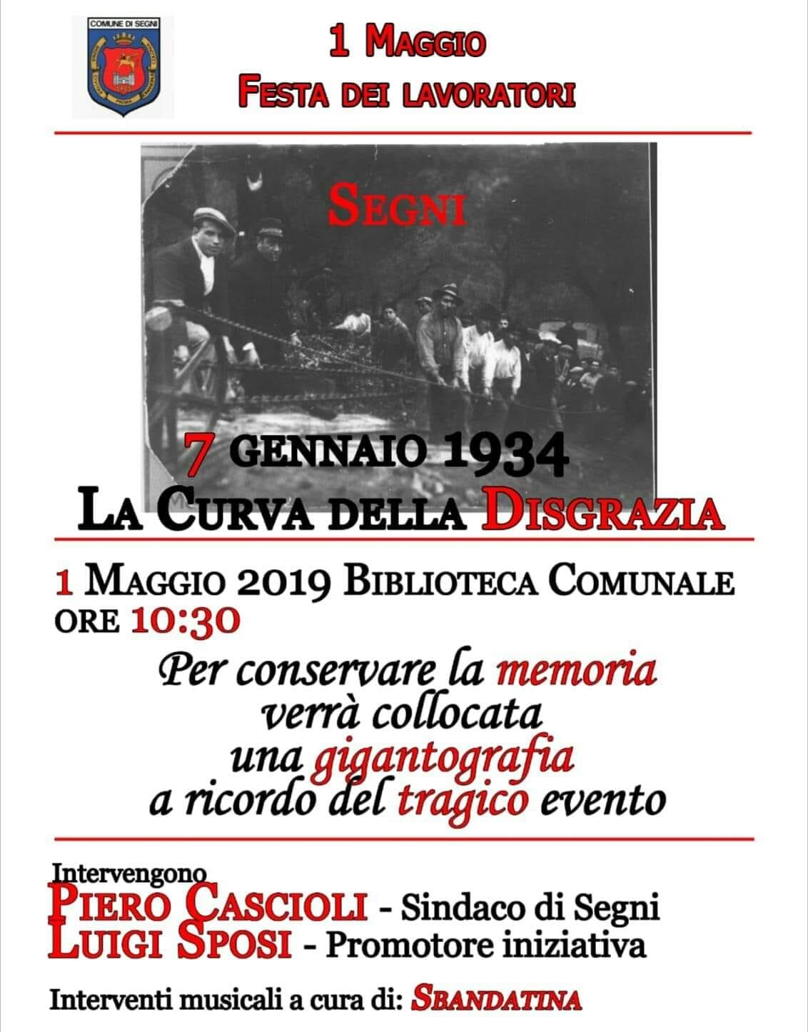 Segni: 1 Maggio - Festa dei lavoratori @ biblioteca comunale | Lazio | Italia