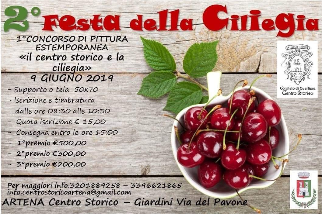 Artena: 2° Festa della ciliegia @ centro storico | Artena | Lazio | Italia