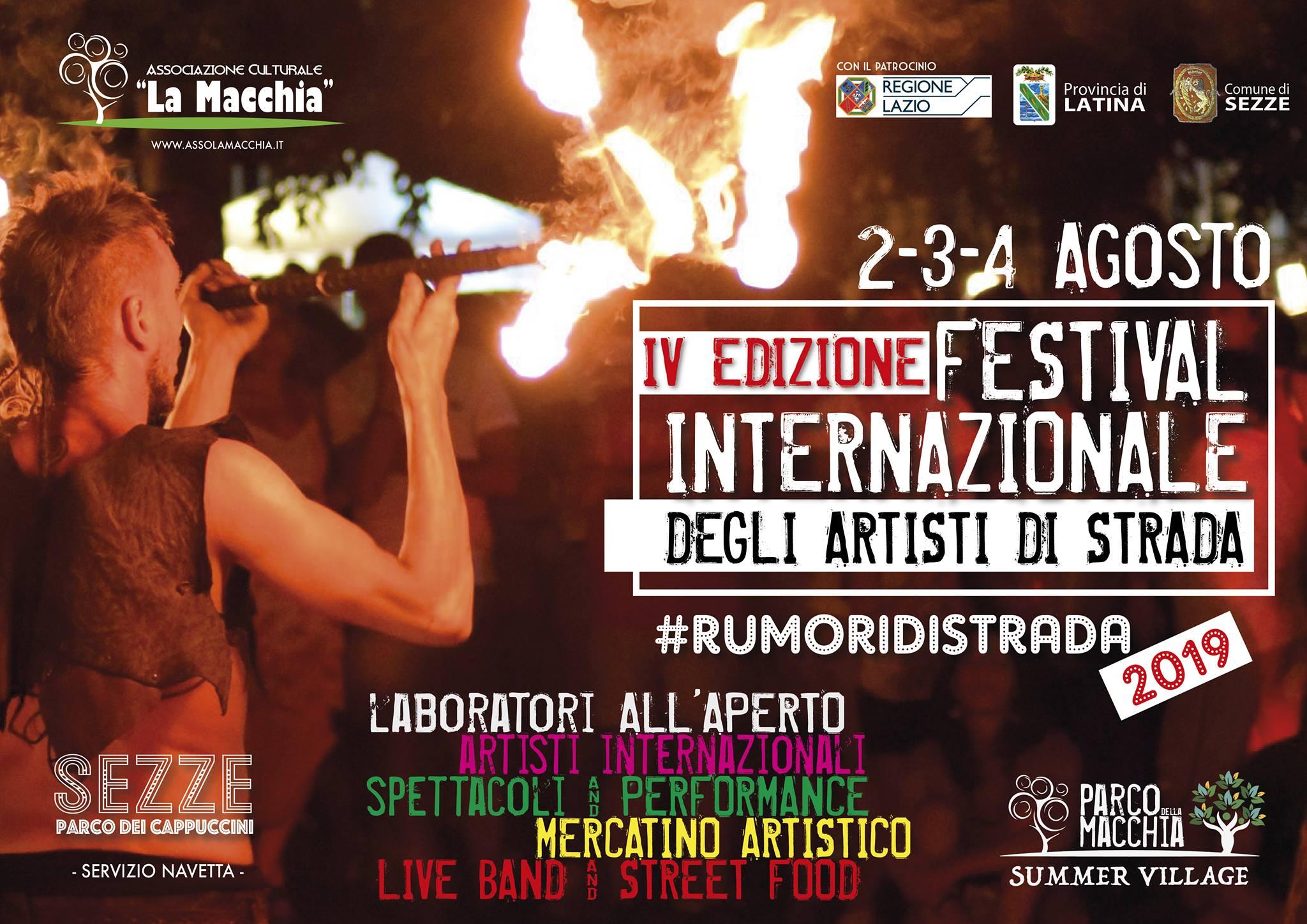 Sezze: Festival Internazionale degli artisti di strada @ Parco dei cappuccini | Sezze | Lazio | Italia