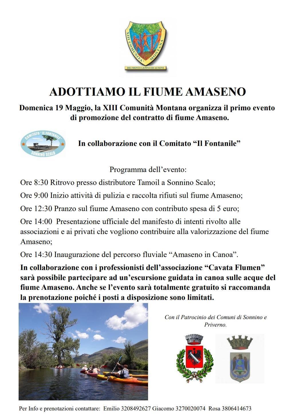Priverno: Adottiamo il fiume Amaseno @ distributore Tamoil | Sonnino | Lazio | Italia