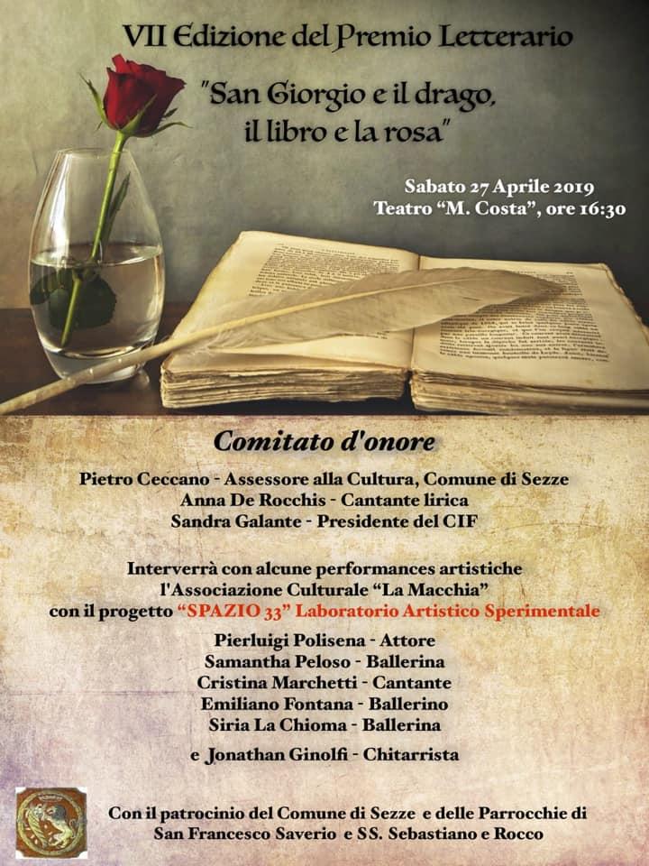 Sezze: VII Edizione del Premio Letterario @ Teatro Mario Costa  | Sezze | Lazio | Italia