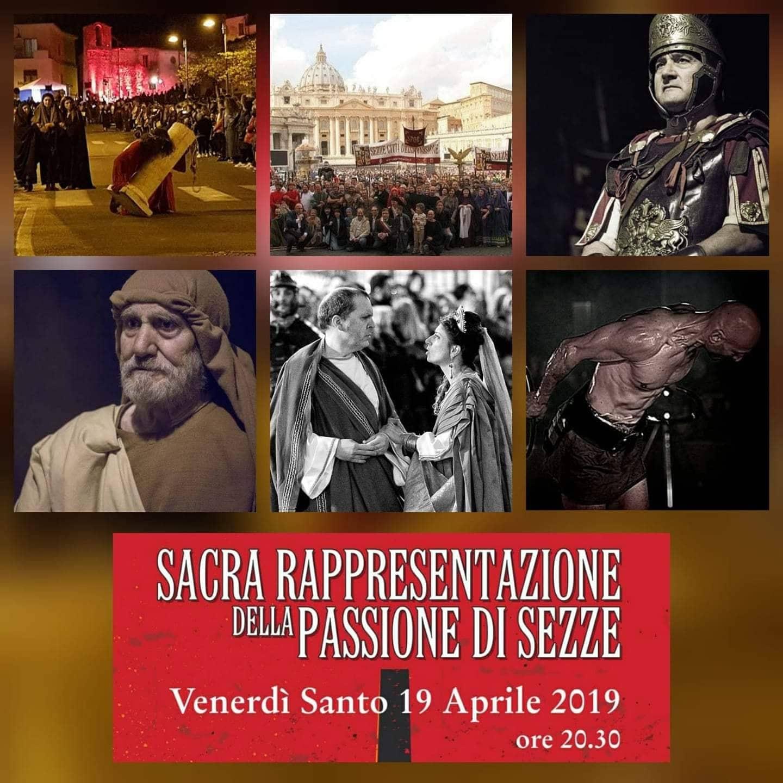 Sezze: Sacra Rappresentazione della Passione @ Per le vie del paese | Sezze | Lazio | Italia