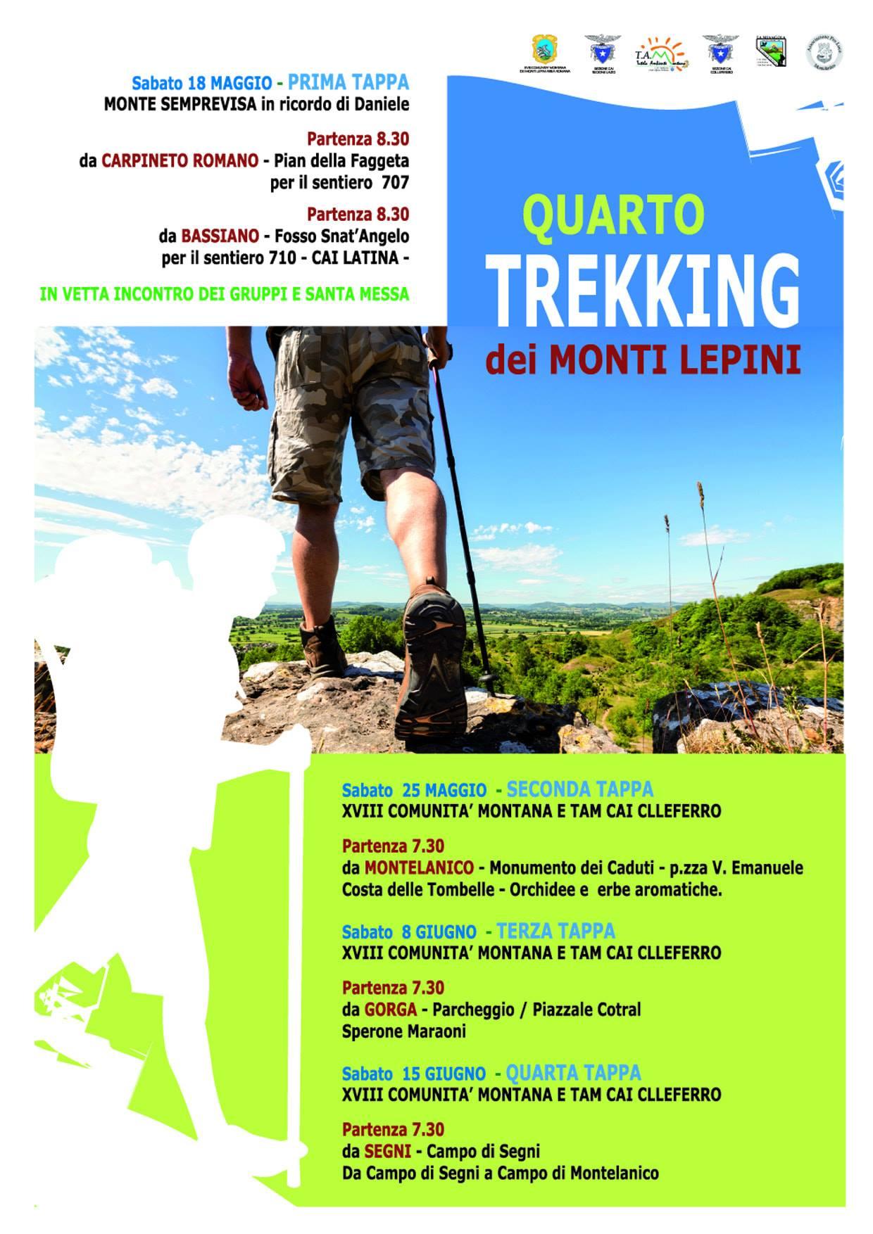 Bassiano : Quarto trekking dei Monti Lepini @ fosso sant'Angelo | Bassiano | Lazio | Italia