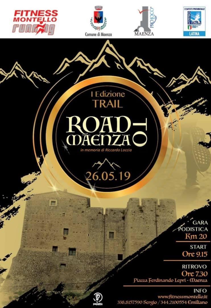 Maenza: I edizione TRAIL @ piazza Ferdinando Lepri | Maenza | Lazio | Italia