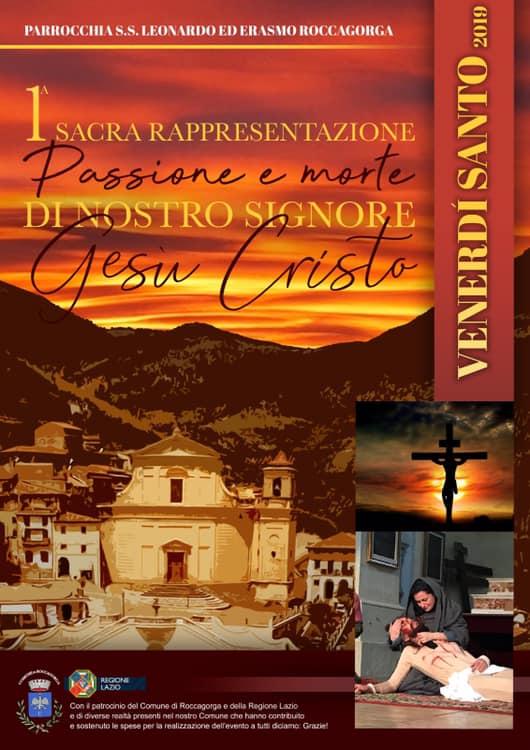 Roccagorga: Sacra Rappresentazione della Passione di Nostro Signore Gesù Cristo @ Piazza VI gennaio | Roccagorga | Lazio | Italia