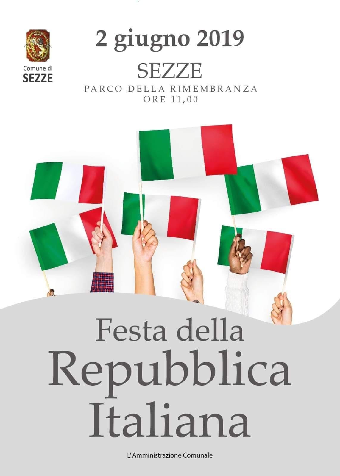 Sezze: Festa della Repubblica Italiana @ Parco della rimembranza | Sezze | Lazio | Italia
