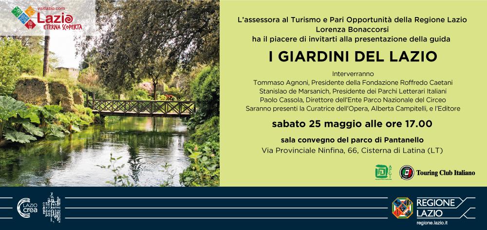 Presentazione guida: I Giardini del Lazio @ sala convegno del parco Pantanello | Cisterna di Latina | Lazio | Italia