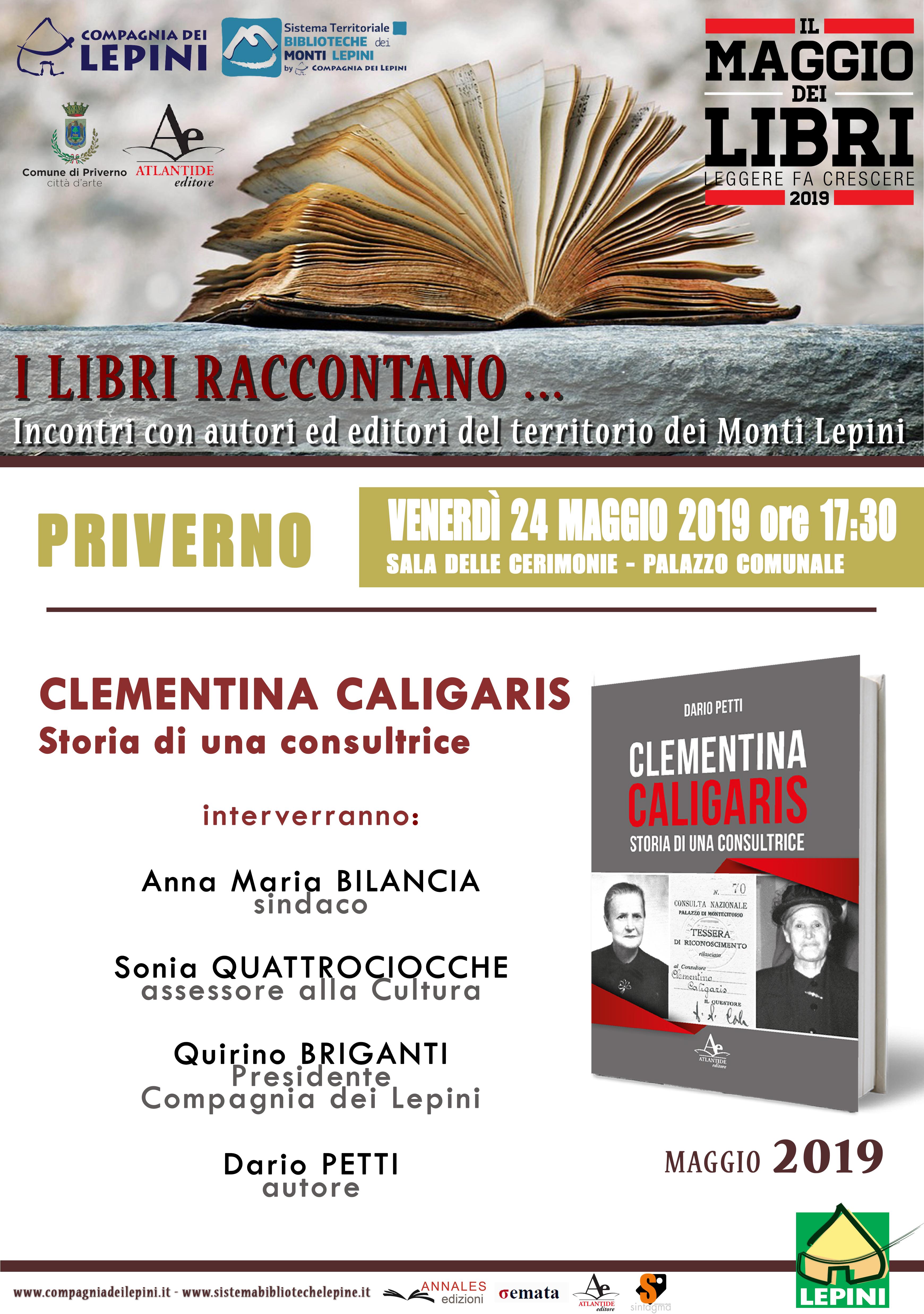 Priverno: Il Maggio dei libri @ sala delle cerimonie | Priverno | Lazio | Italia