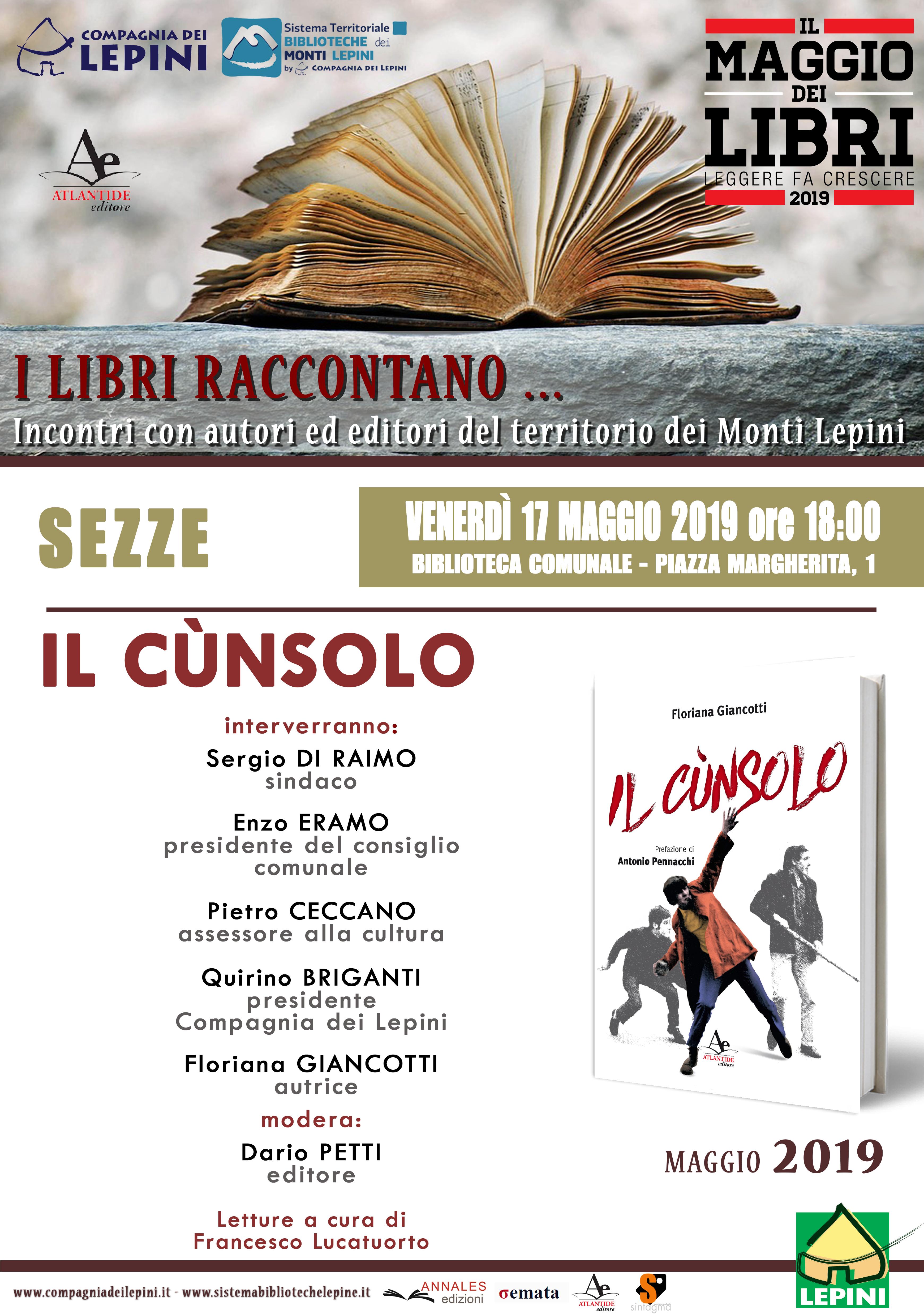 Sezze, Il Maggio dei libri: Il Cùnsolo @ biblioteca comunale | Sezze | Lazio | Italia