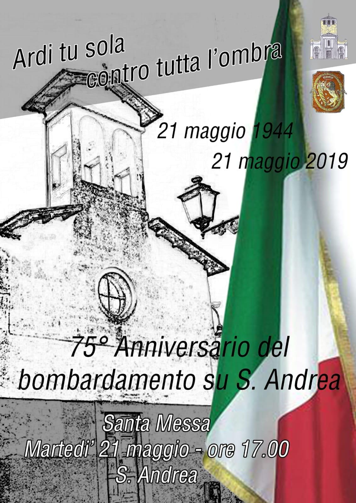 Sezze: 75° Anniversario del bombardamento su S. Andrea @ Sant'Andrea | Sezze | Lazio | Italia
