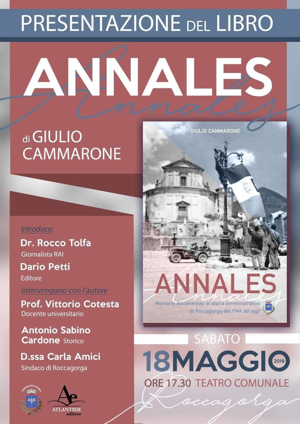 Roccagorga: Presentazione del libro @ Teatro comunale | Roccagorga | Lazio | Italia