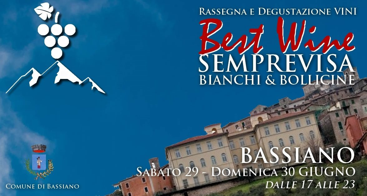 Bassiano: Best wine Semprevisa @ per le vie del paese | Bassiano | Lazio | Italia