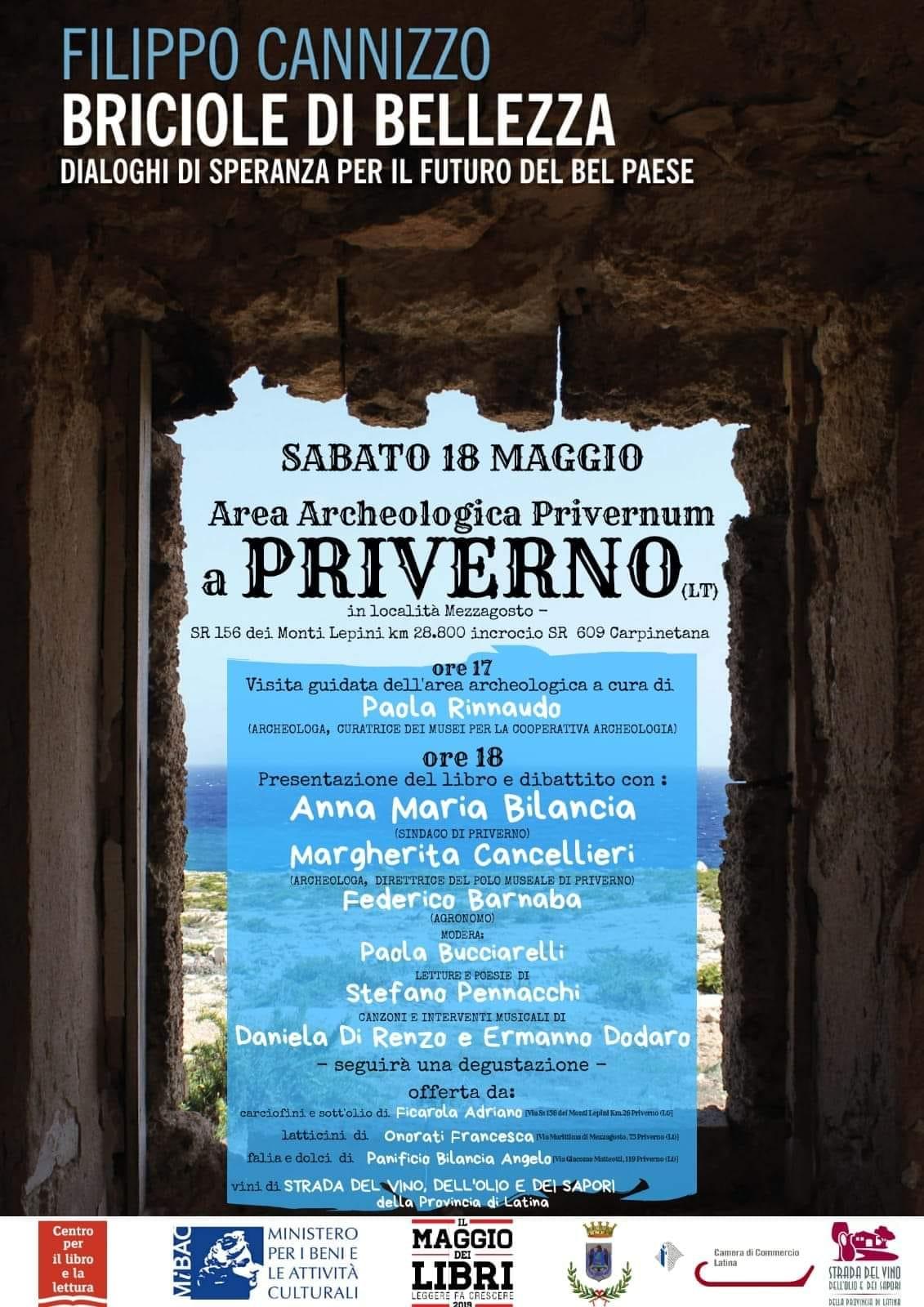 Priverno: Presentazione libro @ area archeologica | Priverno | Lazio | Italia