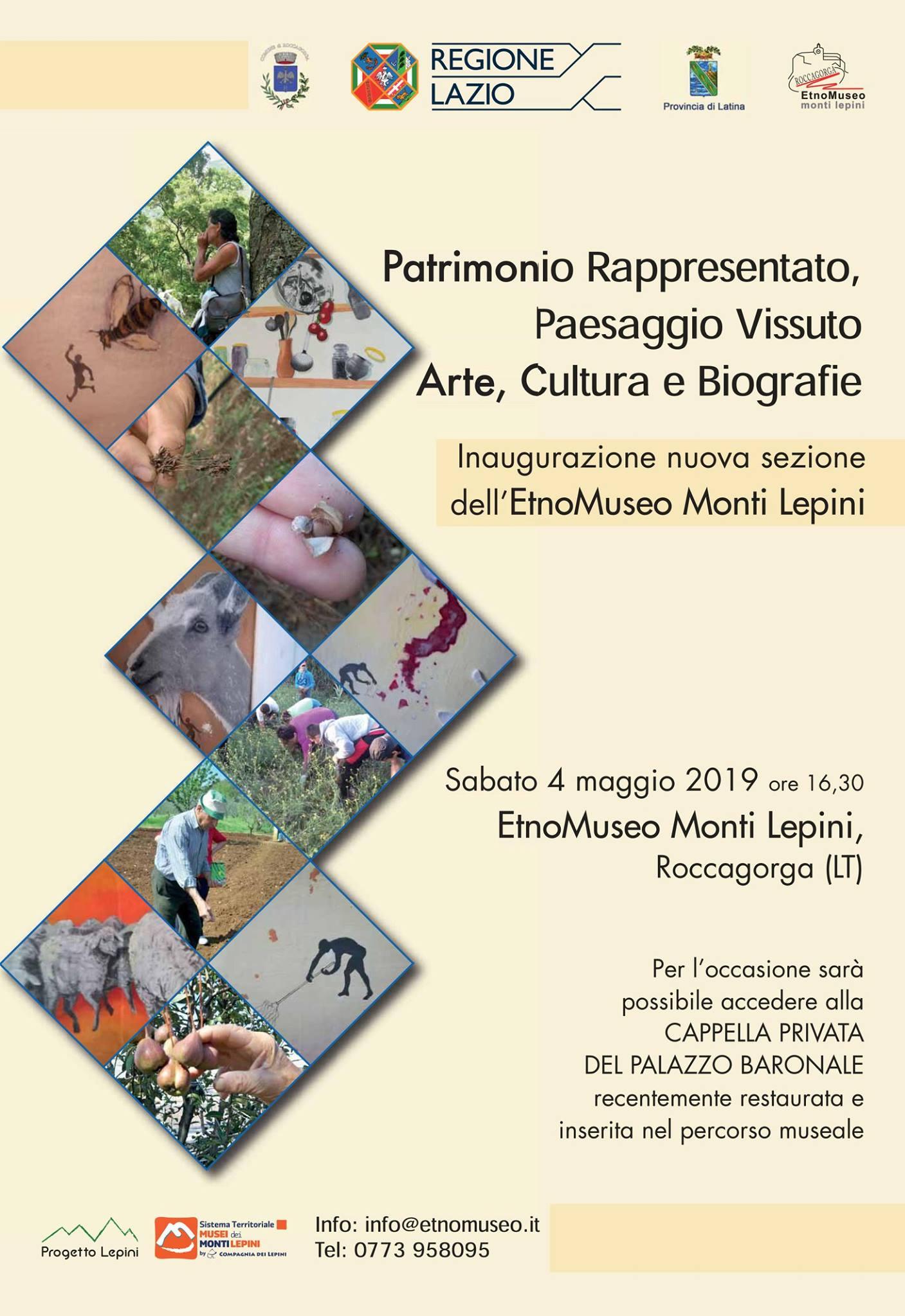 Roccagorga: Inaugurazione nuova sezione dell'EtnoMuseo dei Monti Lepini @ Etnomuseo dei Monti Lepini | Roccagorga | Lazio | Italia