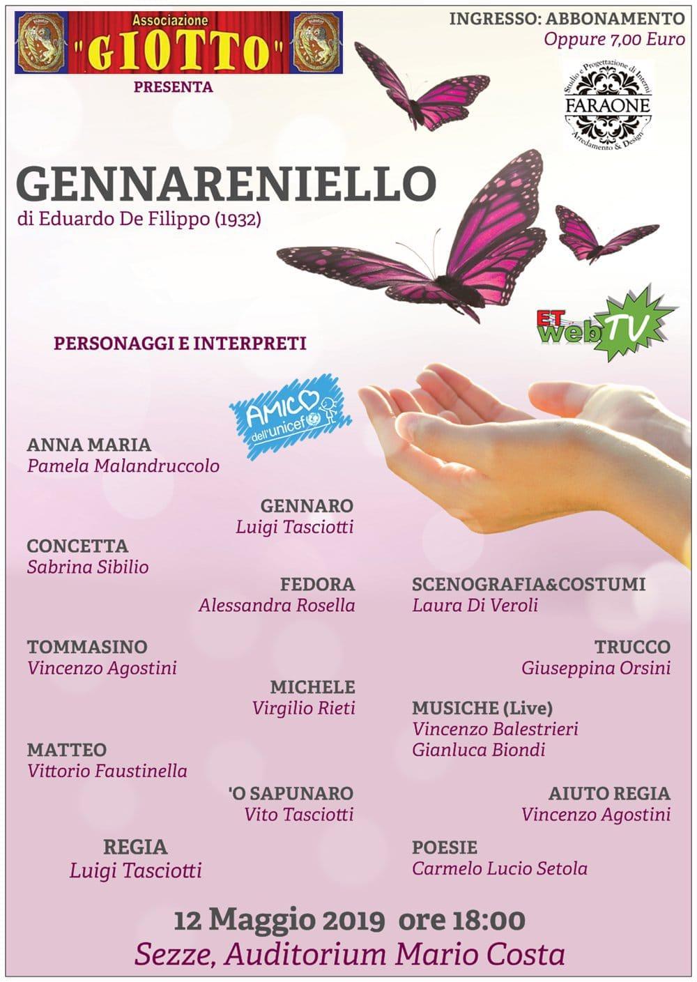 Sezze: Gennareniello @ Auditorium Mario Costa | Sezze | Lazio | Italia
