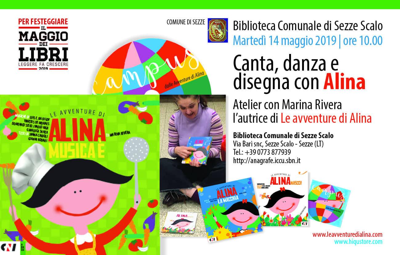 Sezze scalo: Canta, danza e disegna con Alina @ biblioteca comunale di Sezze scalo | Sezze | Lazio | Italia