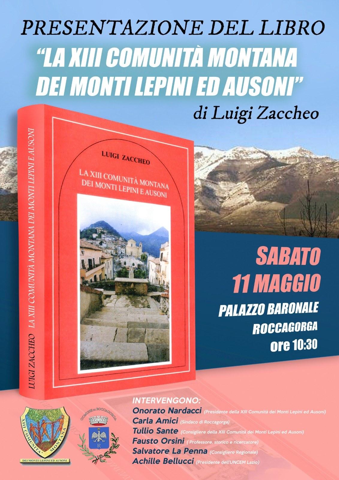 Roccagorga: Presentazione libro @ Palazzo baronale | Roccagorga | Lazio | Italia