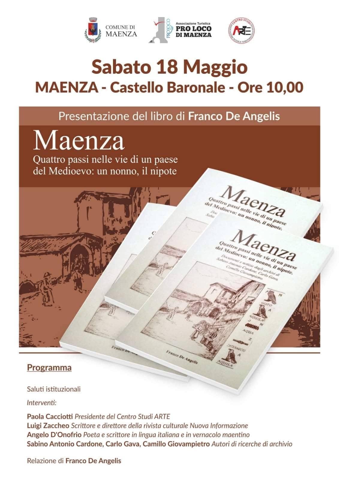 Maenza: Presentazione del libro @ castello baronale | Maenza | Lazio | Italia