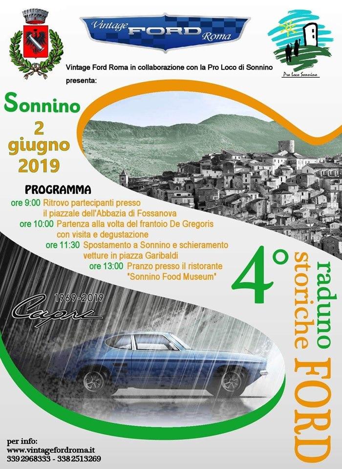 Sonnino: 4° Raduno Ford storiche @ per le vie del paese | Sonnino | Lazio | Italia
