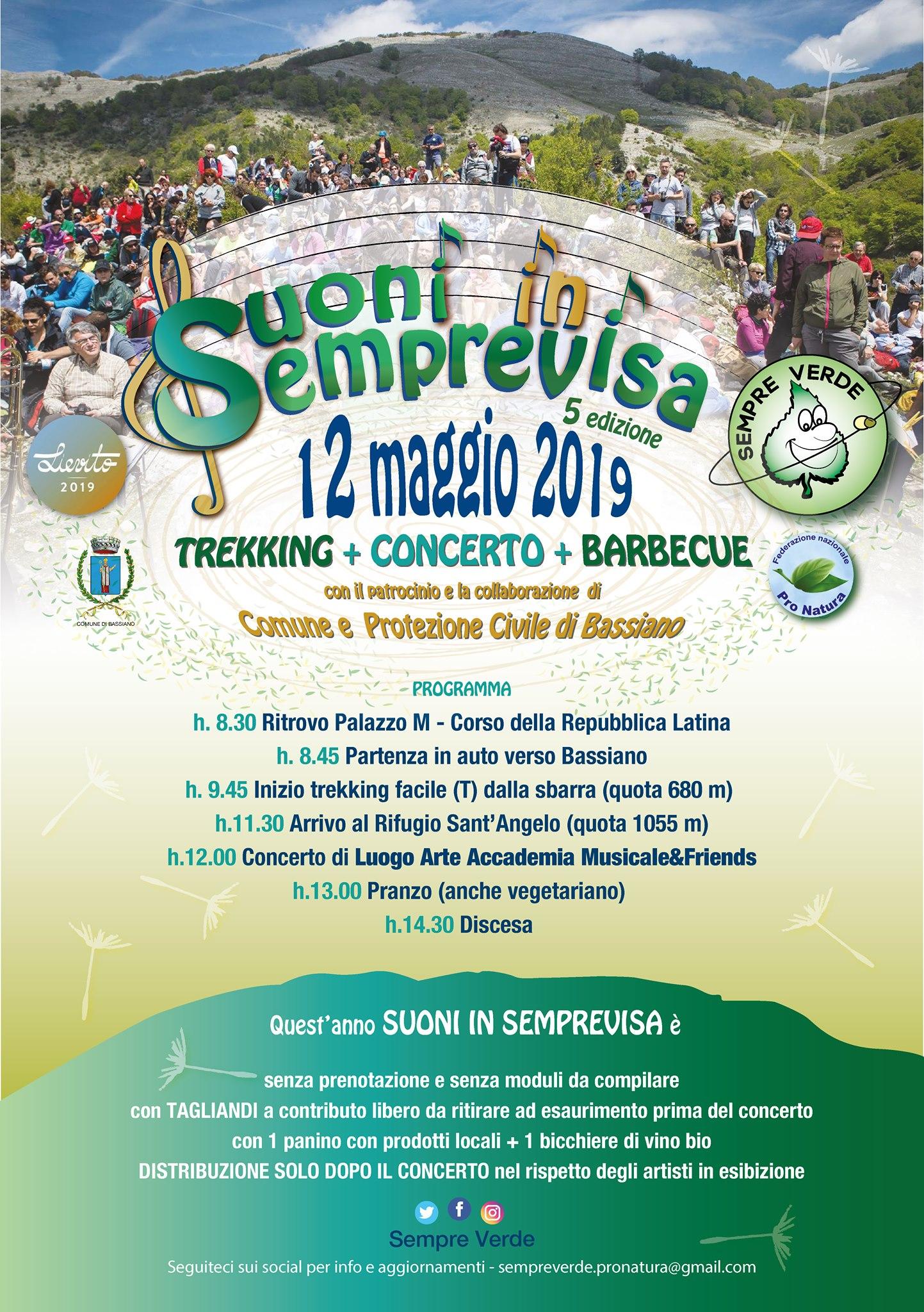 Bassiano: Suoni in Semprevisa @ Semprevisa | Bassiano | Lazio | Italia
