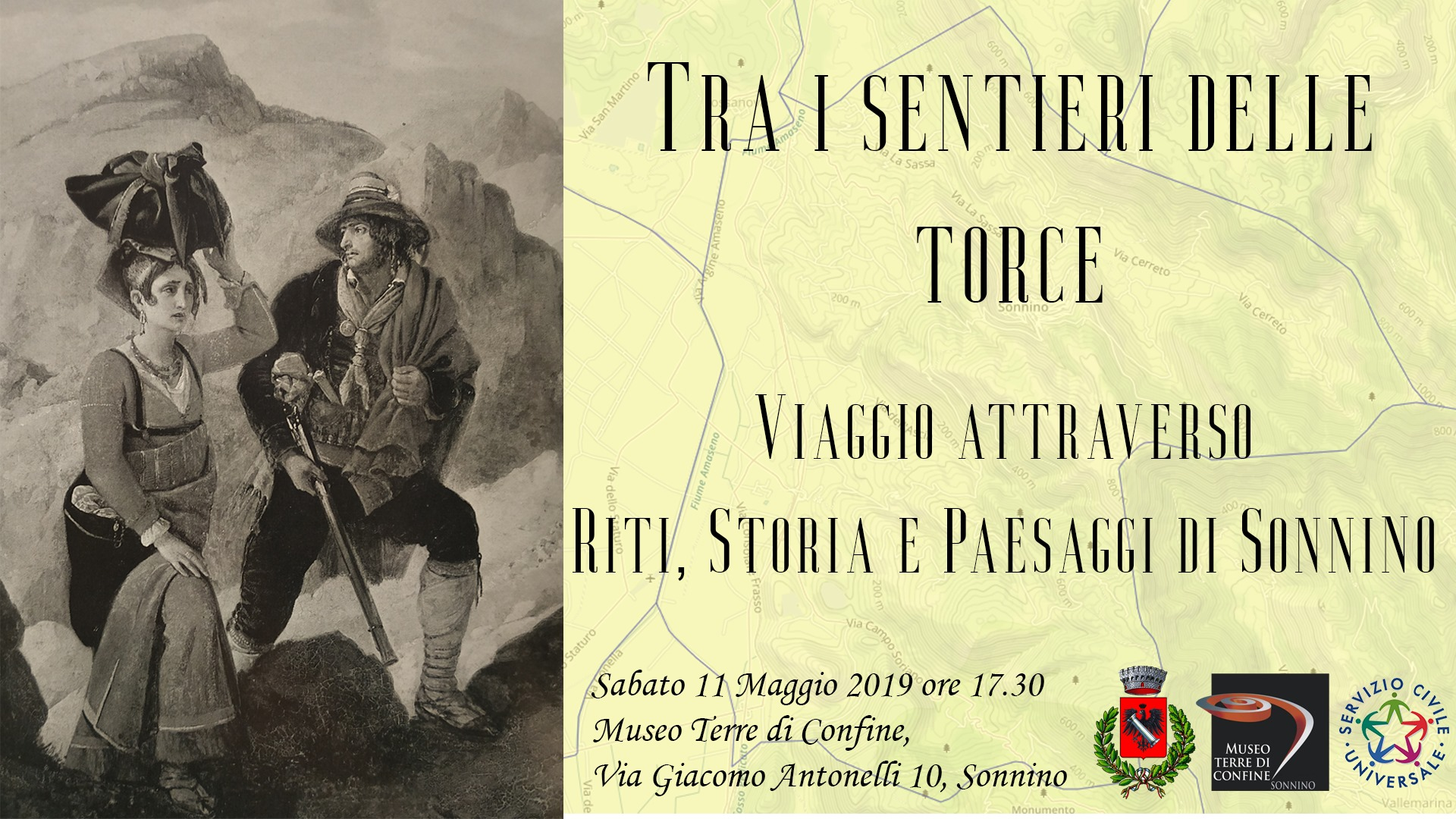 Sonnino: Tra i sentieri delle Torce @ Museo Terre di Confine | Sonnino | Lazio | Italia