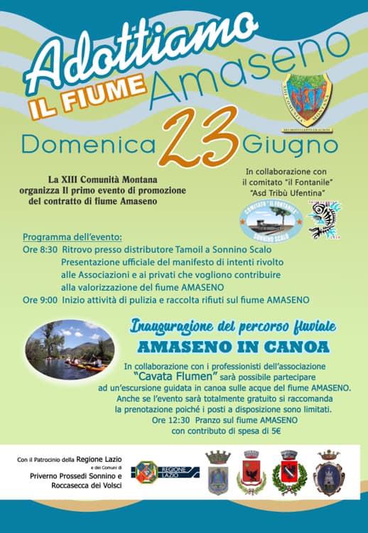 Adottiamo il fiume Amaseno @ Sonnino scalo | Sonnino | Lazio | Italia