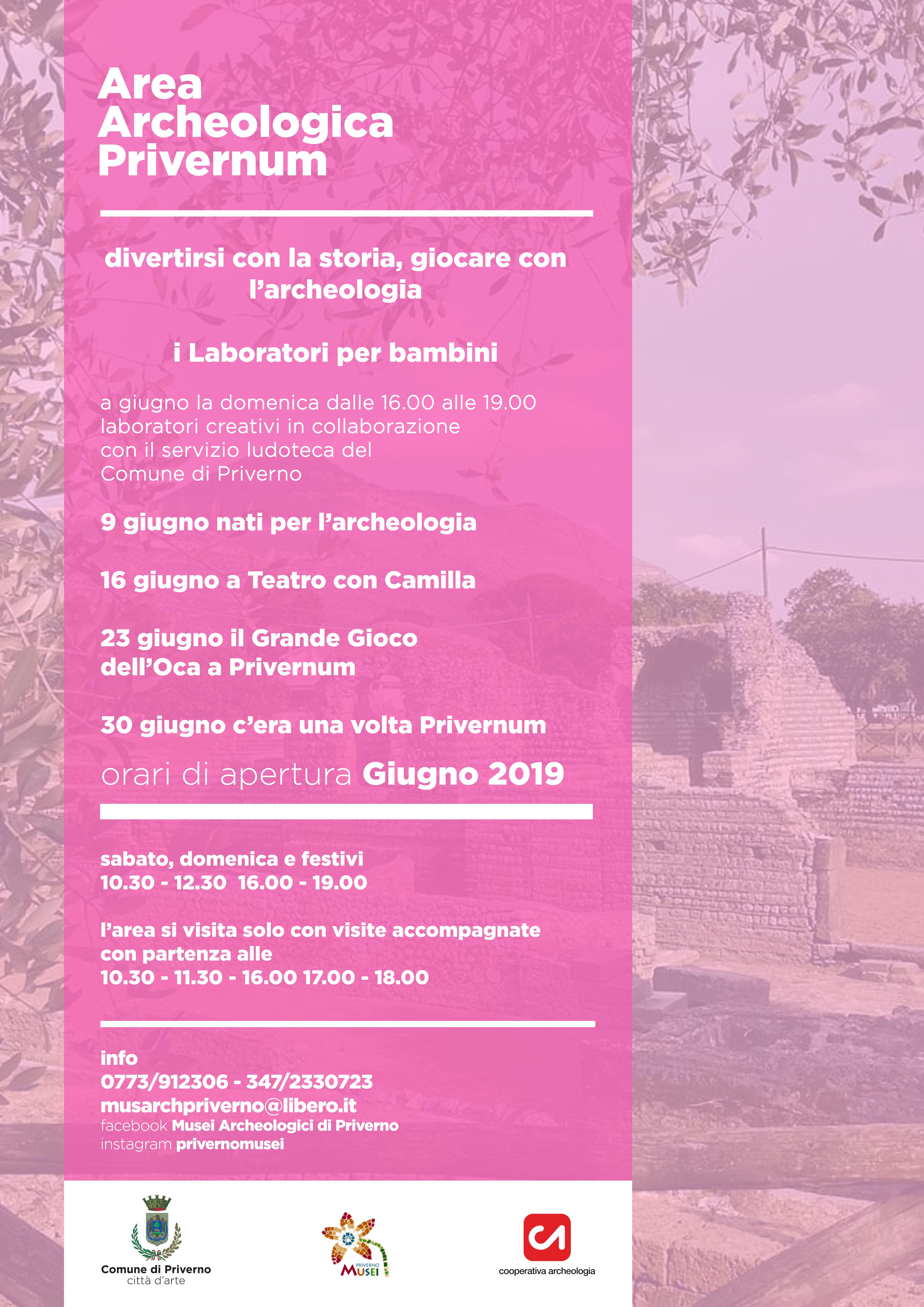 Priverno: Area archeologica - Laboratori per bambini @ Area archeologica  | Priverno | Lazio | Italia