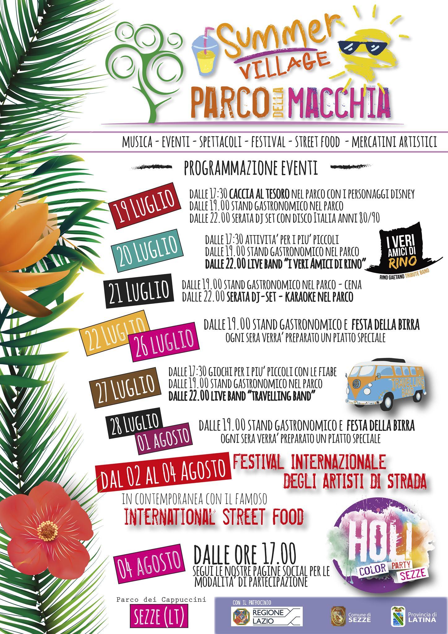 Sezze: Summer village @ parco la Macchia | Sezze | Lazio | Italia